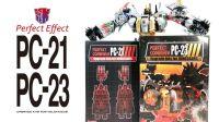 KL变形金刚玩具分享338 PE PC-21+PC-23 修罗王升级配件包