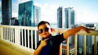 【6岁半】2-8哈哈在迈阿密酒店阳台拍照片video_082246