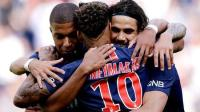 [10分钟集锦]法甲-内马尔传射卡瓦尼姆巴佩建功 巴黎3-1获3连胜
