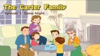 Little Fox小狐狸英语动画  卡特家庭1  游戏之夜  日常英文口语