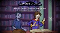 Little Fox小狐狸英语动画  怪物学校之扫帚之谜4  奇怪的咒语  趣味英文学习