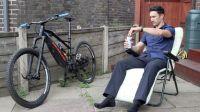 NICOLAI - JACK READING全新EBOXX G16德国制造电动ENDURO山地车骑行!