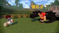 甜萝酱我的世界 Minecraft《生活大冒险之驯龙录》冰与火之歌多模组生存#7 驯服小精灵