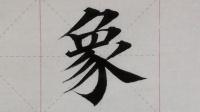 """601汉字""""象""""的演示"""