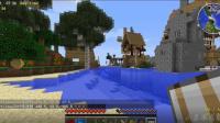 我的世界巫师冒险02: 发现水上村庄在边上安家落户