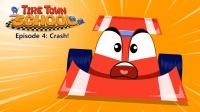 Little Fox小狐狸英语动画  汽车学校4  撞车  日常英文口语