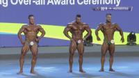 传统健美全场冠军颁奖典礼