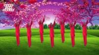 一人变多人广场舞【红梅花又开】抠像