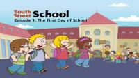 Little Fox小狐狸英语动画  阳光学校1  上学第一天  美国学校生活