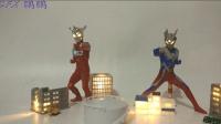 【SFX鹏鹏】奥特曼发光扭蛋系列建筑废墟扭蛋第二弹万代