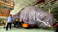 彩条布就是战斗力,直8宽体直升机原来早已曝光,当初裹得像粽子