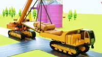 玩具总动员: 不同颜色的卡车运输不同颜色的木材