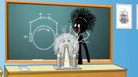 火柴人校园 物理老师做什么实验威力这么大? 游戏