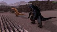 史诗战争模拟器: 哥莫拉叫来了哥斯拉报仇, 他们俩能找回面子嘛?