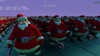 史诗战争模拟器: 10000个圣诞老人集结完毕, 准备对战灭霸!