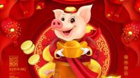 【原创】猪你新年好 (猪年贺岁)