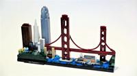 乐高经典建筑系列21043旧金山积木开箱拼装
