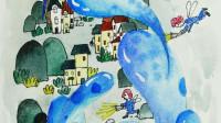 创意儿童插画: 大水滴小精灵