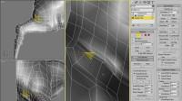 3dmax 怪兽建模 CH06_FinalDetailing_Legs