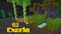 我的世界《超难魔改包Exoria多模组生存Ep2 土里刨食》Minecraft 安逸菌解说