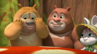 熊熊乐园2 熊大熊二变身机甲战神对战怪兽筱白解说