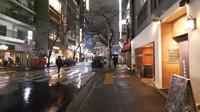 美景之东京涩谷雨夜