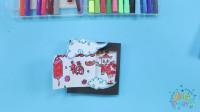 嘟拉手工绘画   嘟拉教你做一张多功能猪年礼品贺卡!