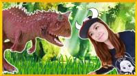 [爱丽讲恐龙故事] 牛龙 | 爱丽和故事 EllieAndStory