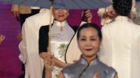 天坛周末13377 模特表演《手绘服饰展 运河情》北京巾帼艺术团