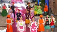 天坛周末13378 模特表演《舌尖上的绿色》西城凤之翎时装队