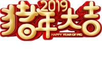 2019云莲飞舞广场舞【猪年大吉】原创正反面演示;制作:新风尚