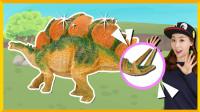 [爱丽讲恐龙故事] 剑龙 | 爱丽和故事 EllieAndStory
