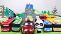 宝宝巴士玩具 第177集 四个新司机