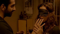 谷阿莫:5分钟看完假盲人看到真凶杀案变真盲人的电影《看不见的旋律 Andhadhun》