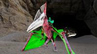 方舟生存进化 帕格纳西亚07 误入仙境最黑暗的洞穴,侠客的脱险方式有点坑!