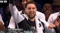 詹姆斯队逆转取胜 杜兰特收获全明星赛MVP