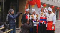 陕北绥德汉吹响2米多长大号,声音是这样的,一般人吹不响!