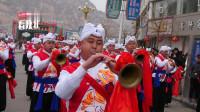 陕西绥德:绥德汉唢呐团,百人唢呐团,精彩演出!