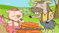 Little Fox小狐狸英语动画  三只小猪