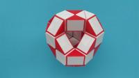波波教魔尺  48段魔尺教程—六方体球