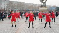 广场舞《好嗨呦》,动感时尚健身操,简单易学步子舞