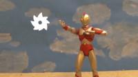 """《爱迪奥特曼》自拍战斗特效玩具动画!""""爱迪光轮"""""""