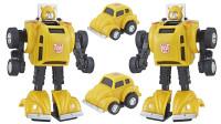 变形金刚玩具 变形金刚30周年G1收藏小车系列大黄蜂试玩