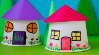 幼儿园纸杯材料手工制作自制玩教具