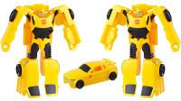 变形金刚玩具 变形金刚风暴系列大黄蜂可变汽车E1164试玩