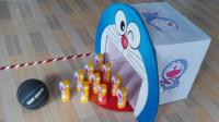 幼儿园废旧材料手工制作创意纸箱玩教具
