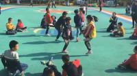 幼儿园户外活动民间游戏 斗鸡