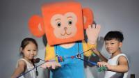 幼儿园体制体育玩教具平衡球与拉力器