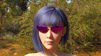 美女眼镜秀,DAZ3D作品