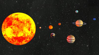 太阳系八大行星介绍,科普知识,daz3d动画作品